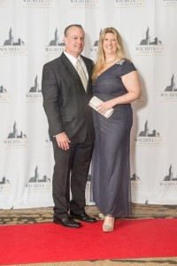 the Wichita Bar Association celebrated their 100th Anniversary at the Hyatt - June 27, 2015. James Bonifas, Financial Advisor attended with his spouse, Kimberly Bonifas who is an attorney with Morris Laing Evans Brock Kennedy Chtd.